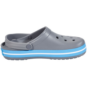 Crocs Crocband - Sandales - gris/bleu